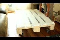 Bouwen meubels uit pallets zelf