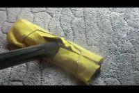 Reinig het tapijt met een stoomreiniger - hoe het werkt