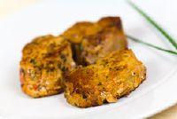 Varkenshaas in mosterd-kruid shell - zo succesvol voorbereiding in de oven