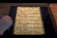 Apple taart met hagelslag - een eenvoudig recept