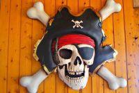 Wanddeko selbermachen voor een piraat kamer - hoe het werkt