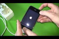 iPhone geeft alleen Apple - wat te doen?