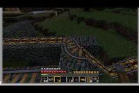 In Minecraft bouwen van een spoorlijn - hoe het werkt