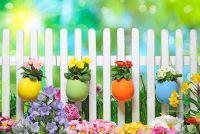 Pasen decoratie voor de tuin - suggesties