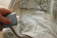 Verwijderen uit Tippex kleding