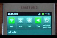 Uit het internet met de Samsung Galaxy Ace S5830 - Hoe werkt het?