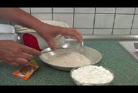 Gebruik van zetmeel voor het bakken - hoe het moet