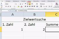 Gebruik Doelzoeken in Excel 2010 - hoe het werkt