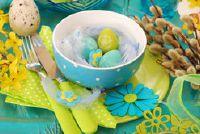 Pasen ontbijt - zodat u de tafel ceremonieel versieren