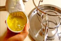 Gebruik gel brandstof voor fondue goed - hoe het moet