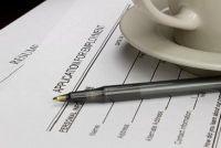CV in te vullen - zodat u uw eigen sjabloon maken
