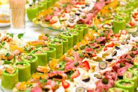 Veganes buffet - Recept