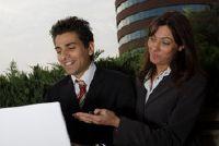 Job veranderingen - de goedkeuring van de zakelijke partners te slagen dus