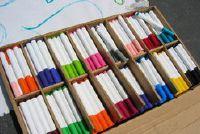 Leren Kleuren - werkblad voor kinderen selbermachen