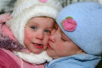 Strickanleitungen voor baby: muts en wanten