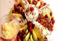 Fruit garnituur - zodat u het beheer van een omvangrijke fruitschaal