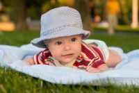 Een baby deken naaien - hoe het werkt