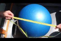 Fitness Ball - welke maat geschikt is voor wie