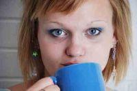 Welke kleur haar pakken met blauwe ogen?  - Om uw type onderstrepen