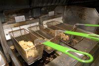 Clean friteuse mand - hoe het werkt