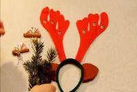 Verpakking mooie gift van het geld voor de kerst