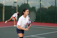 Plaats dubbele tactiek in tennis geslaagd
