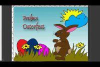 Easter Bunny foto schilderij - Beginner's Guide
