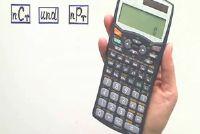 met behulp van nCr en nPr de rekenmachine correct