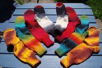 Breien: Aanwijzingen voor sokken modellen met ster tip
