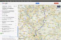 Het brandstofverbruik berekend met aanwijzingen - dat doet Google Maps