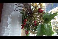 Fensterdeko voor de herfst - ideeën voor het knutselen met natuurlijke materialen