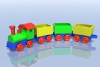 Instructies voor het maken van een locomotief papier-maché