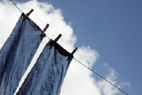 Een droge natte broek snel - een manier om de huid