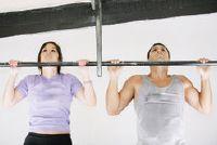 Pull-ups - dus je slaagt gevarieerd kinnen dan sport oefeningen