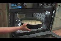 Rabarber taart met vla - een recept