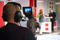 ZDF live uitgezonden - dus het werk bezoek aan de ZDF sport studio