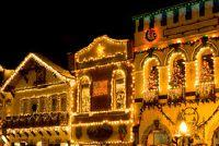 Maak kerstdorp