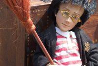 Harry Potter muur - zodat u de kwekerij in de Potter-stijl versieren
