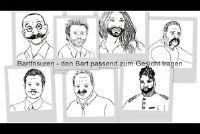 Bart kapsels - dragen de baard om het gezicht te passen