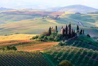 Italië - positie in lengte- en breedtegraad