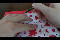 Star tinker met calqueerpapier - Aanwijzingen voor kerststerren