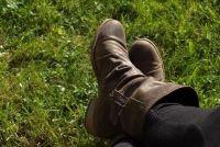 Maak schoenen met leren zolen voorzichtig - hoe het werkt