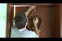 Een deur krans fix - dus slaagt zonder boren