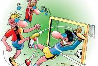 In Fifa 12 PS3 krijgen in het doel vieren - dus gelingt`s