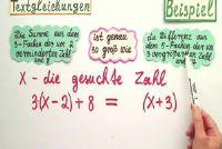 Tekst Vergelijkingen - Hoe het opzetten van de vergelijking uit de tekst