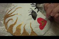 Carnaval maskers gemaakt van papier mache ambachten - hoe het werkt