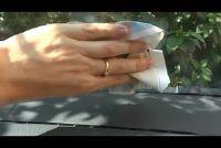 Auto wassen van ramen - dus het is mogelijk zonder strepen