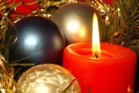 Om Kerst kaarsen zelf maken