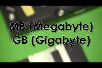Wat is groter: GB of MB?  - Meer informatie over datavolume Ontdek