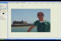 In GIMP randen glad - Instructies